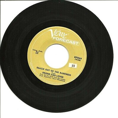 Friend And Lover-Reach Out Of The Darkness/Time On Your Side-45