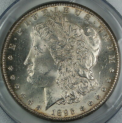 Click now to see the BUY IT NOW Price! 1895 O MORGAN SILVER DOLLAR PCGS MS 62 CHOICE BU COIN