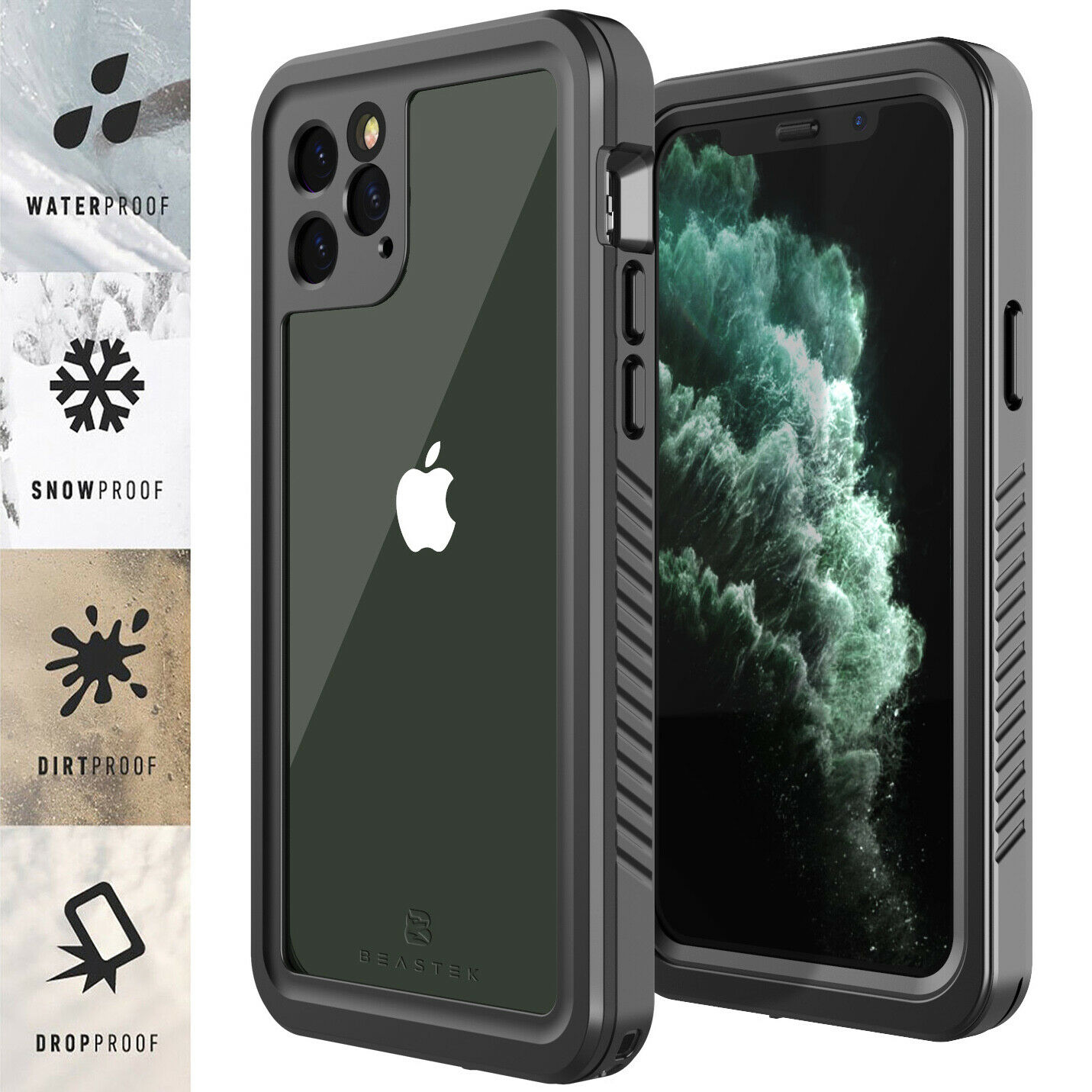 For Apple iPhone 11 / 11 Pro Max Life Waterproof Case Cover