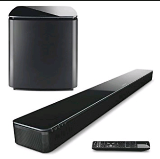 Bose Soundtouch 300 Sound bar + Acoustimass Subwoofer