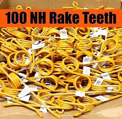 100 New Holland Rake Teeth 64562 Nh1-a 55 56 57 256 258 259 260 Tines