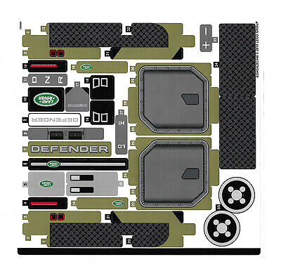 LEGO Technic 42110 Land Rover Defender - STICKER SHEET ONLY - NEW