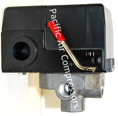 Air Pressure Switch 120 Volt 95-125 Psi Adjustable Four Port 14 Furnas
