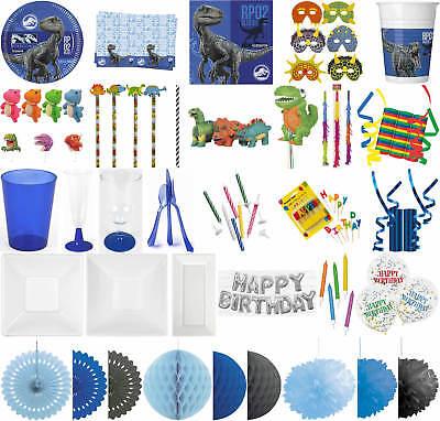 Kinder-Geburtstag Party Deko Feier Fete Motto Dino Jurassic World 2