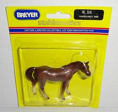 VTG 89 BREYER STABLEMATE THOROUGHBRED MARE MINIATURE MODEL HORSE FIGURE 5141 NIP