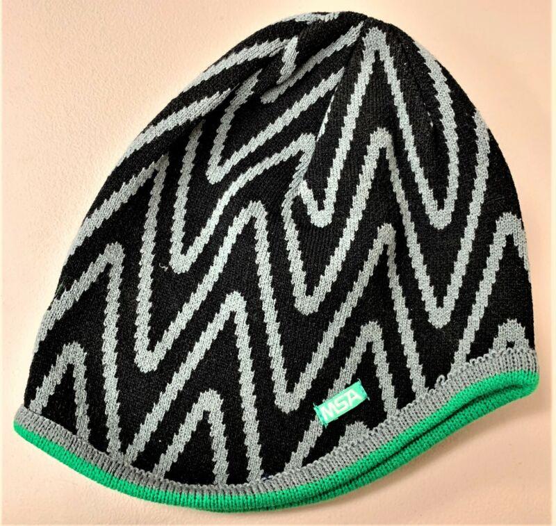 V-Gard Knit Cap Liner MSA Acrylic Black Grey Green, Under hard hat