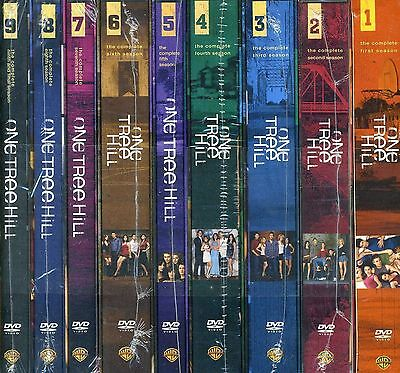 One Tree Hill Complete Series Season 1 9 1 2 3 4 5 6 7 8 9  New 50 Disc Dvd Set