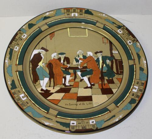 Antique Deldare Ware Buffalo Pottery Charger – Lion Inn