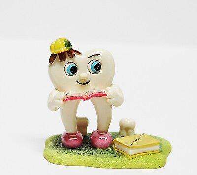 Dental Tooth Molar Bookworm Pen Card Holder Figurine Decoration - Molar Series