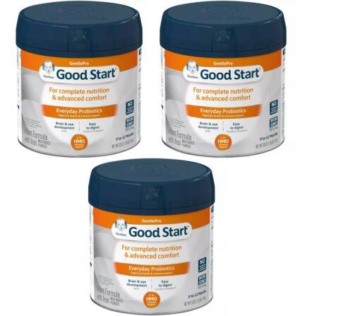 3 Pack Gerber Good Start Gentle Pro Everyday Formula 20oz Powder Exp 12/15/22
