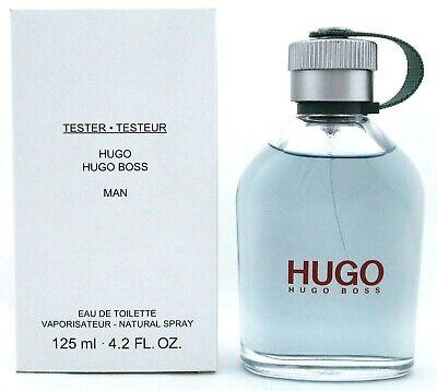 Hugo Man Cologne by Hugo Boss 4.2 oz Eau de Toilette Spray for Men New Tester