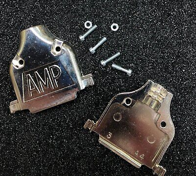 Amp 745173-4 Connector Backshell Db25 Die Cast 25-position New