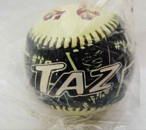 Vtg Warner Bros. Looney Tunes TAZ Tasmanian Devil Limited Ed Fotoball Baseball