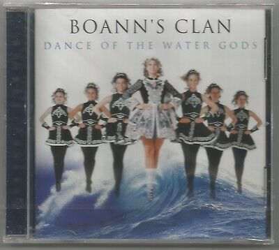 BOANN'S CLAN Dance Of The Water Gods Global Journey CD Album BRAND...