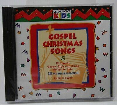 Cedarmont Kids Gospel Christmas Songs BRAND NEW CD Lyrics Included See Pics ()
