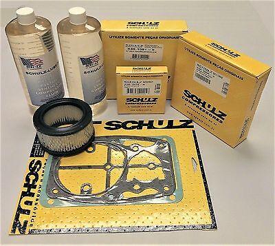 Rebuild Kit For Schulz Air Compressor Pump Msl Or Csl 30 Max Msl Or Csl 40 Max