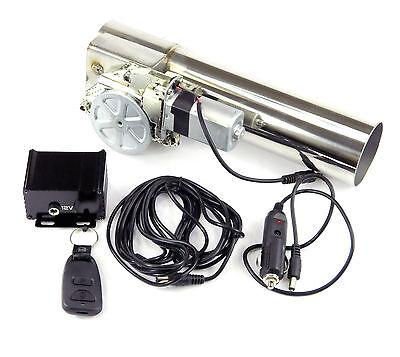 63MM Eléctrico Solapa de Escape Control Regulable Sistema Tubo Recambio