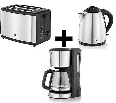 WMF Set Bueno - Wasserkocher + Toaster + Kaffemaschine - Frühstücksset