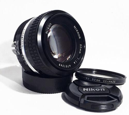 MINT NIKON NIKKOR 50mm f/1.4 Ai Fast Manual Standard Prime Lens