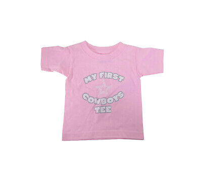 REEBOK Toddlers Infants Clothing Dallas Cowboys Pink T-Shirts My First Tee](Dallas Cowboys Baby Clothes)