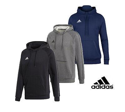 Adidas Mens Hoodies Hoody Core Hoodie Hooded Sweatshirt Pullover Size S M L