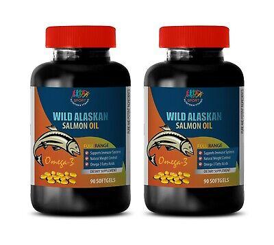 fish oil vitamins - ALASKAN SALMON OIL 2000MG - anti inflammatory supplement 2B