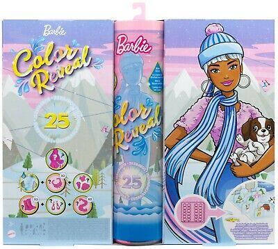 MATTEL® HBT74 Barbie Color Reveal Adventskalender, NEU & OVP