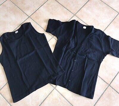 Set Kurzer Arm (Twin-Set Kurzarm Schwarz Gr. L Baumwolle)