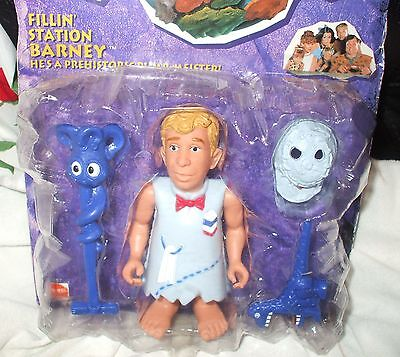 FLINTSTONES! COLLECTORS ITEM! STILL SEALED C1993 FILLIN' STATION BARNEY