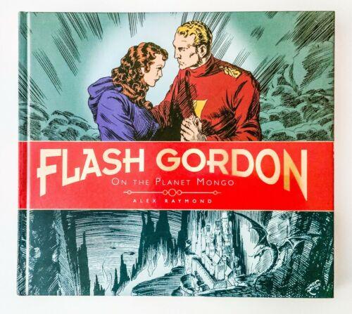 FLASH GORDON On the Planet Mongo HARDCOVER Book ALEX RAYMOND Comic strips
