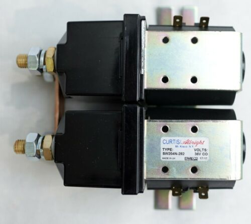 TENNANT SW204N 282 CONTACTOR Assembly Switch 36VDC 250A SPST NO Curtis Albright