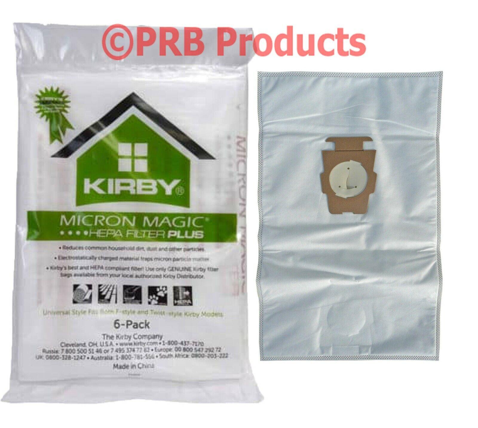 Kirby Hepa Filter MicroAllergen PLUS Vacuum Bag Universal Av