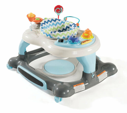 Storkcraft 4-in-1 Activity Walker and Rocker with Jumping Board and Feeding Tray