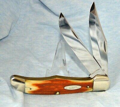 RARE VINTAGE CASE XX RED STAG FOLDING HUNTER KNIFE 5265 SAB 1940-64