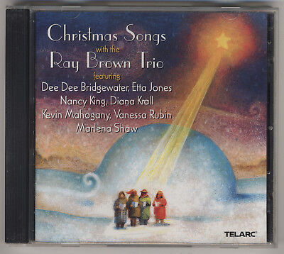 Christmas Songs With The Roy Brown Trio & Guest Singers - Telarc Jazz CD - MINT! ()