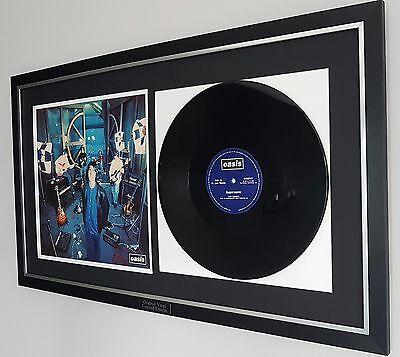 Oasis Supersonic Framed Original Vinyl-Noel Gallagher