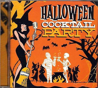 HALLOWEEN COCKTAIL PARTY FRIGHTENINGLY FESTIVE HOLIDAY MUSIC & SOUND EFFECTS NEW