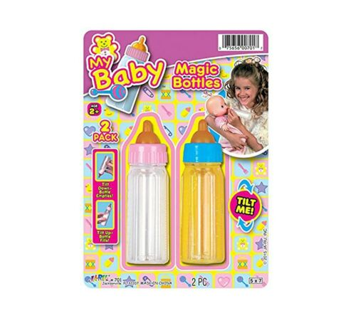 Magic Bottle Baby Doll Toy - Milk and Juice set