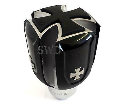 Gear Knob German Iron Cross Maltese Golf mk5 new Beetle Bay Window T4 VW Van