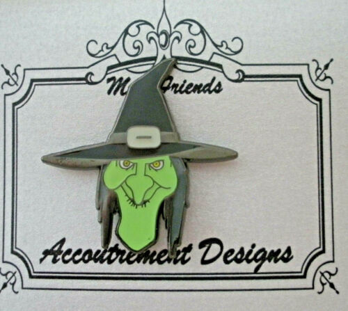 Needle Minder Magnet Witch Halloween Accoutrement Designs Needlepoint
