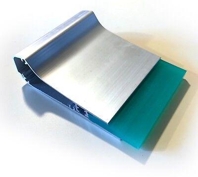 New Ergonomic Aluminum Screen Printing Squeegee W 70 Durometer Blade - 4