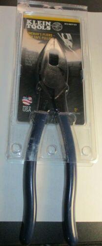 "Klein D213-9NETP-SEN Linemans 9"" Pliers Fish Tape Pulling USA New"