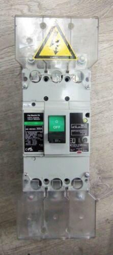 Nice Fuji Elecric EG403C 300A Earth Leakage Circuit Breaker 3 Pole EB3KEC