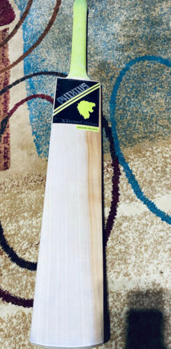 Grade 1 English Willow Cricket Bat With Bat Cover, Light To Medium Weight - $160.00