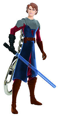 Star Wars ANAKIN SKYWALKER Keychain Keyring Clone Jedi Force Retired Lucas S1