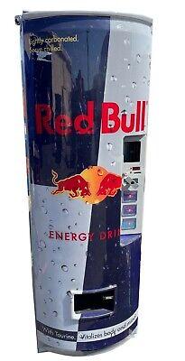 Royal Vendors 372-3 Redbull Energy Drink Vending Machine Free Shipping
