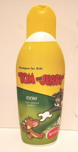 WARNER BROTHERS TOM & JERRY CARTOON CAT MOUSE HEBREW SHAMPOO FOR KIDS ISRAEL