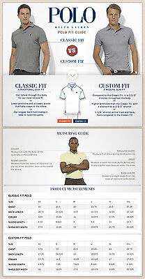 Polo Ralph Lauren Size Chart For Men Ralph Lauren Polo T Shirts For Boys