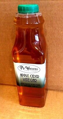 1L Whiteheads Apple Cider Vinegar with Mother Raw Unfiltered Goodness 1Litre