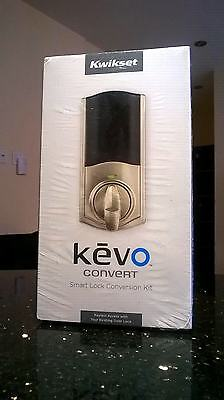 Kwikset Kevo DeadBolt Convert Smart Lock Conversion Kit 99250-102 Bluetooth